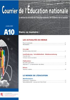 Courrier de l'éducation nationale 10/2020