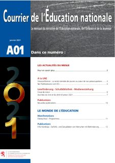 Courrier de l'Éducation nationale 01/2021