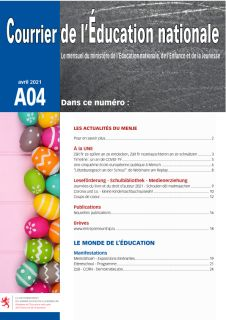Courrier de l'Éducation nationale 04/2021