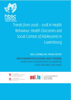 Health behaviour in school-aged children: Trends from 2006-2018 in health behaviour, health outcomes and social sontext of adolescents in Luxembourg