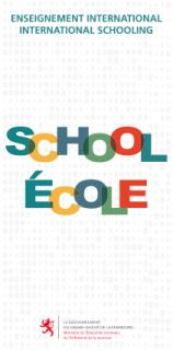 Enseignement international - International schooling (flyer)